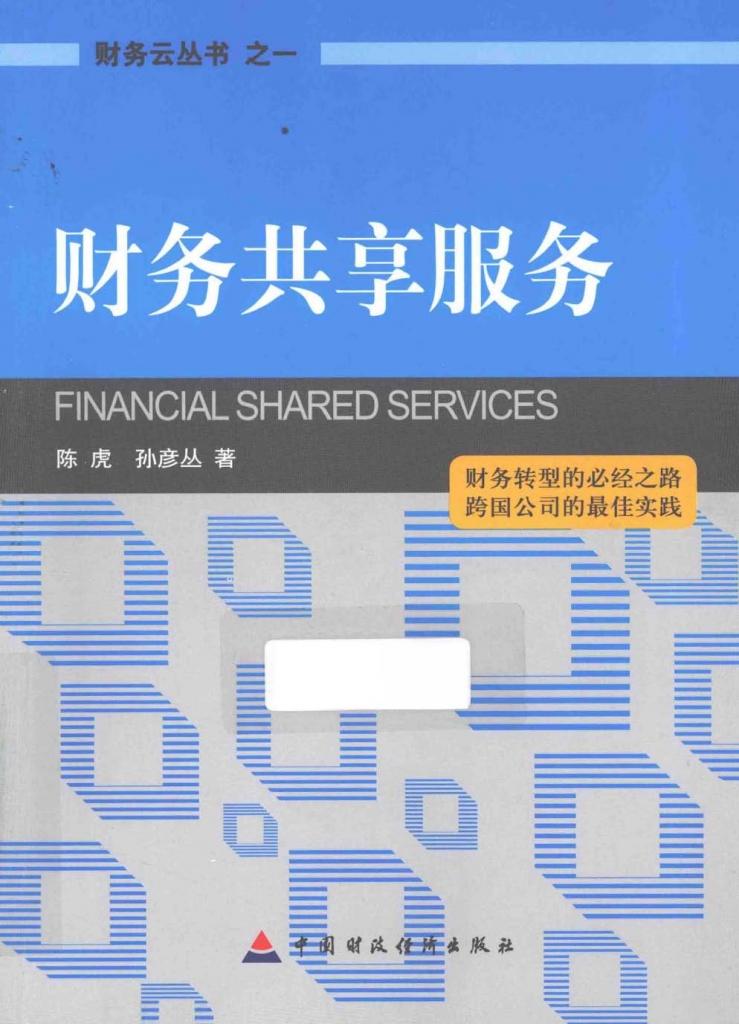 财务共享服务  陈虎 PDF